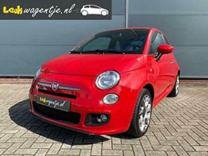 Rode Fiat 500 1.2 500S